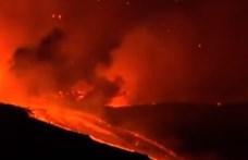 Lenyűgöző videón a füstöt okádó Etna