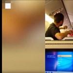 Durván összeverekedett két utas egy Amerikába tartó gépen – videó