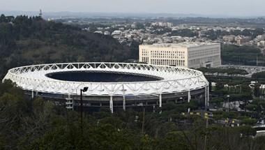 Bombát találtak az olasz-svájci meccs előtt a római Olimpiai Stadionnál
