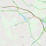 Óriási dugó van az M1-M0-son, 35 kilométeren áll a forgalom