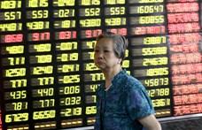 Majdnem harminc éve a leglassabb a kínai növekedés