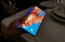 Itt a bizonyíték: a vártnál hamarabb érkezhet a Huawei összehajtható telefonja