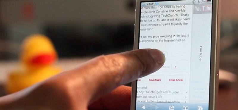 SwipeSafari: kényelmesebb böngészés a mobil Safariban