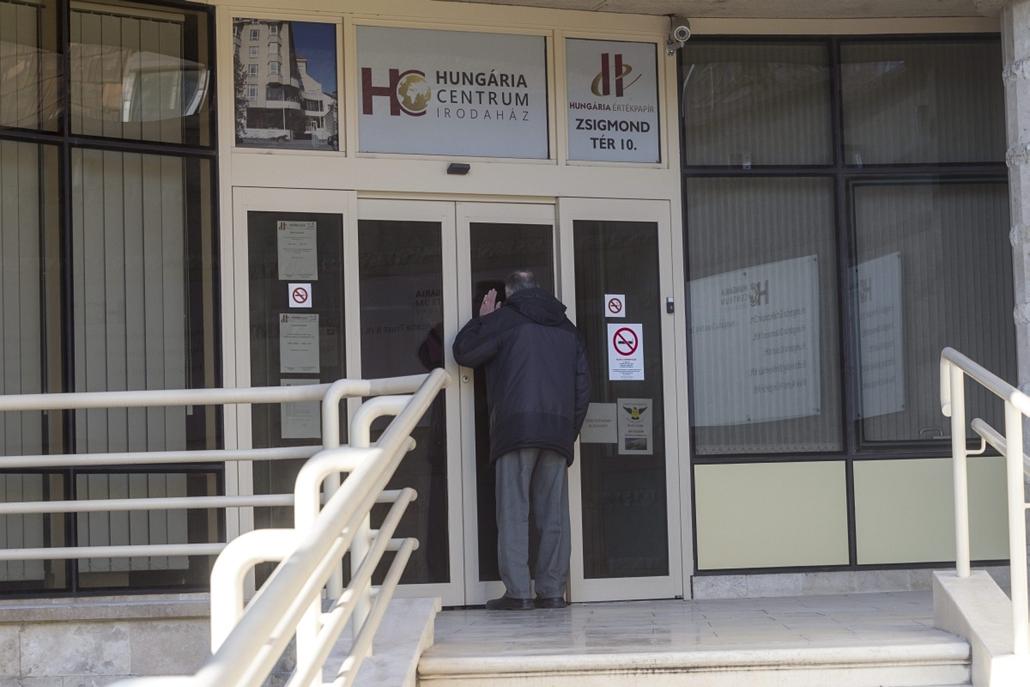 mti.15.03.06. - Az MNB részlegesen felfüggesztette a Hungária Értékpapír Zrt. tevékenységi engedélyét