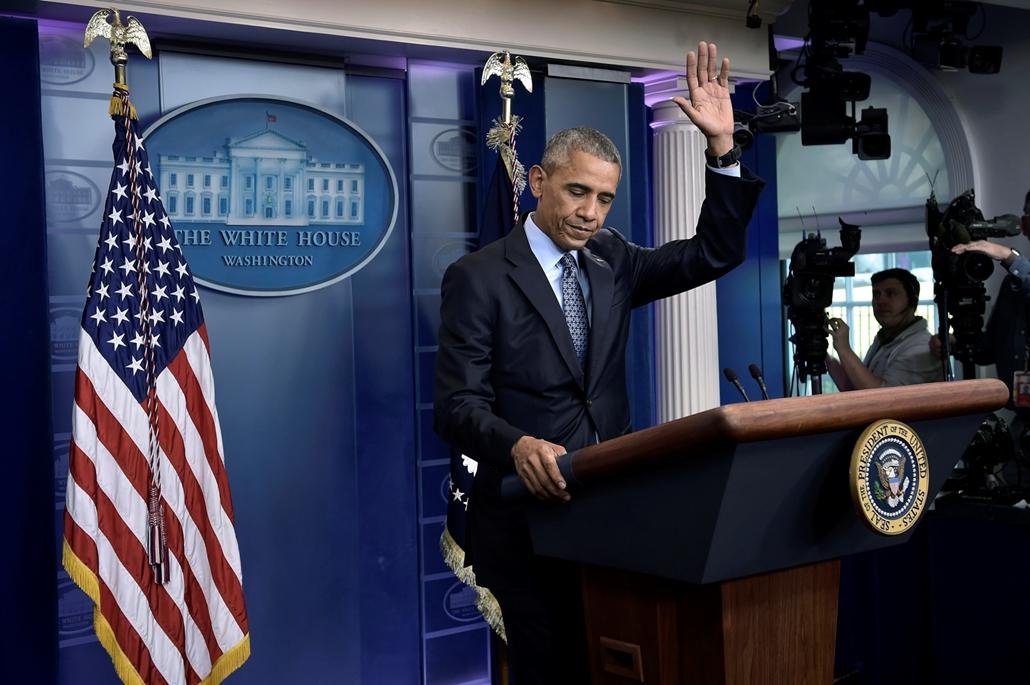 best of 2017 Barack Obama amerikai elnök a washingtoni Fehér Házban rendezett utolsó sajtótájékoztatóján