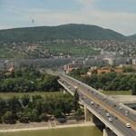 Lemossák az Árpád hidat, sávlezárás várható