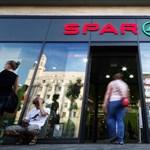 Több Spar üzlet is lehúzhatja a redőnyt