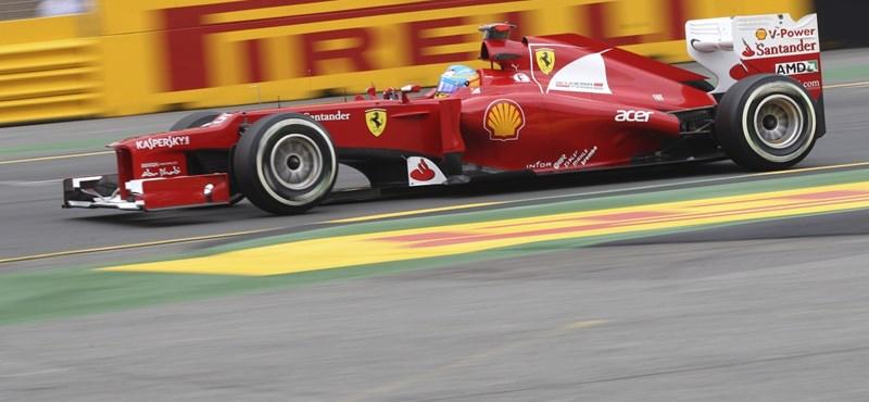 """Alonso: """"ezzel az autóval pontokat veszítünk"""""""