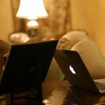 Érdekes fotó - Macbook Airt-t használ a HP főnöke