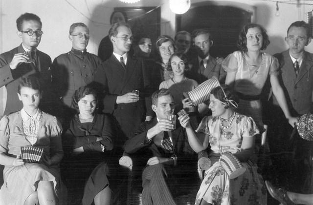 fortepan_! szilveszer 1934