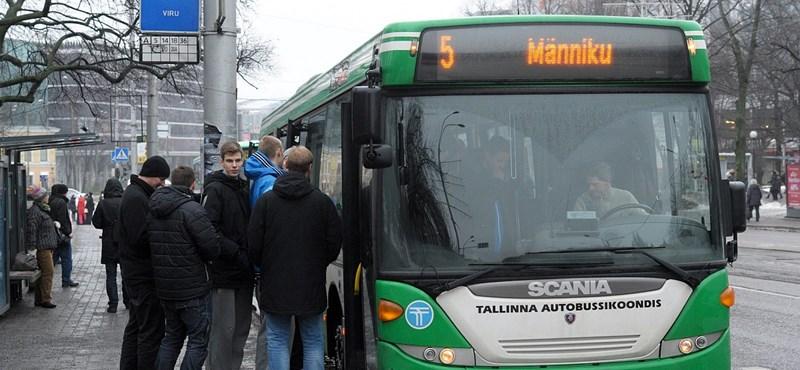 Ingyenes lesz a tömegközlekedés egész Észtországban