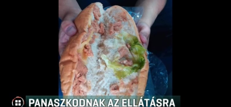 Ehetetlen szendvicsekre panaszkodnak a Maccabi Játékokat biztosító rendőrök