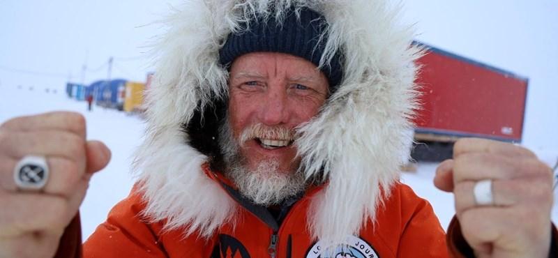 Minden idők leghosszabb sarkvidéki útját teljesítette egy ausztrál