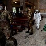 Az olaszoknál most 29 ezerrel nőtt a fertőzöttek száma