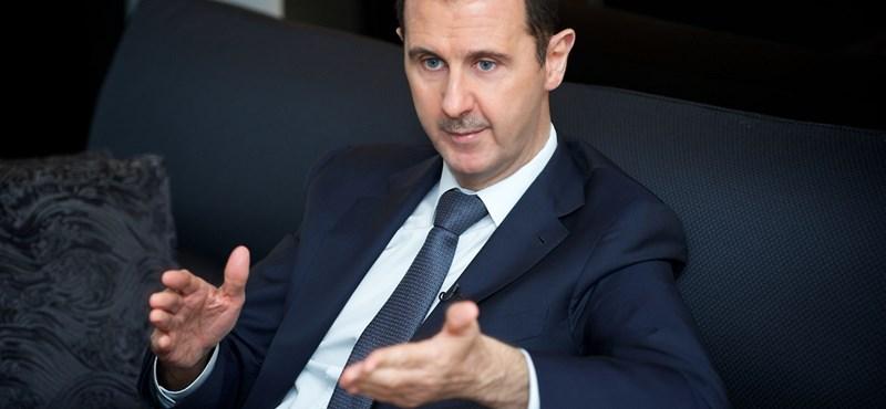 Aszad a terrorizmus támogatásával vádolja Törökországot