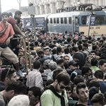 Amikor a kétségbeesés gyalog indult Nyugatra – Nagyítás képgaléria