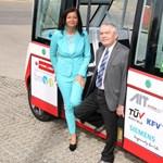 Bécsben már tesztelik az önvezető autóbuszt