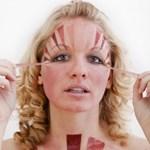 Sokkoló fotók egy fiatal nő testéről