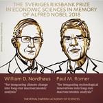 Két amerikai kapta a közgazdasági Nobel-emlékdíjat