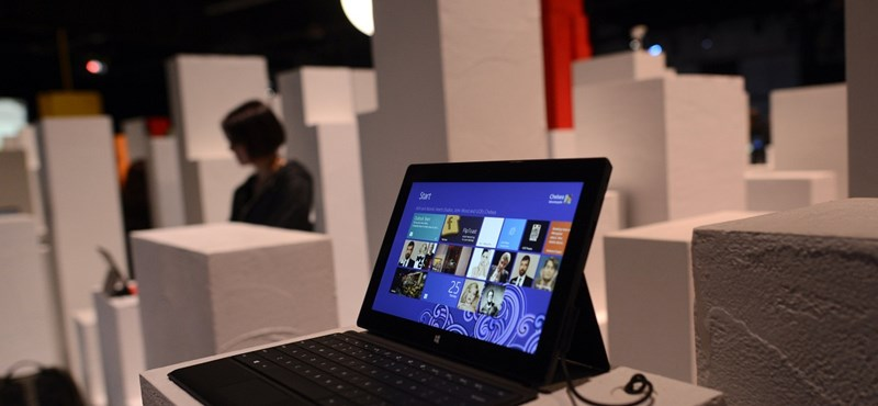 Hatalmas bukás a Microsoft táblagépe