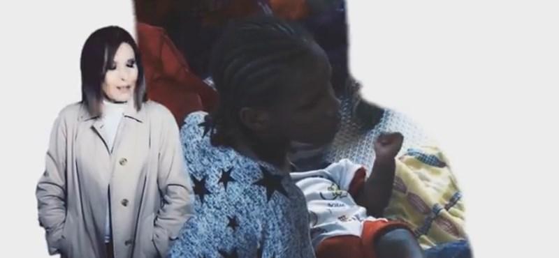 Népszabadság, menekültek - Koncz Zsuzsa is politikus dallal jelentkezett
