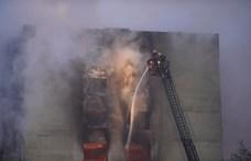 Videón az eperjesi gázrobbanás pillanata