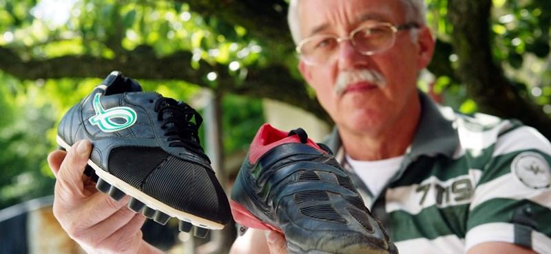 Az Adidas tovább árulja a magyar feltalálótól lopott cipőt