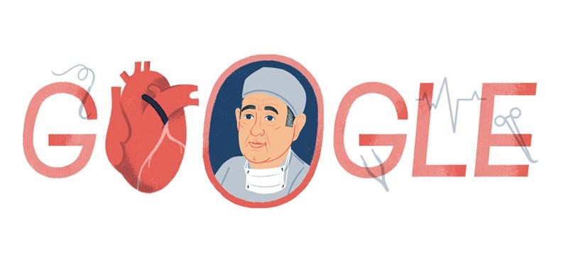 Miért került ma René Favaloro szívsebész a Google főoldalára?