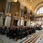 Sólyom László egyetemi tanári kitüntetéseket adott át
