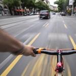 Már fel is festették a legújabb budapesti bringasávot