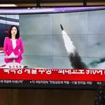 Valamit megint kilőtt a tenger felé Észak-Korea