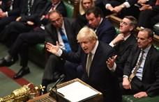 Boris Johnson: Átléptük a Brexit célvonalát