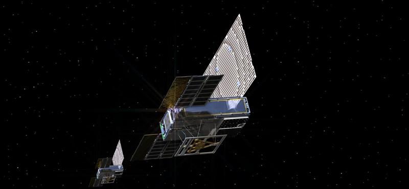 Ez a két műhold hétfőn pár ezer km-ről közvetíti majd nekünk, ahogy leszáll a Marsra az InSight
