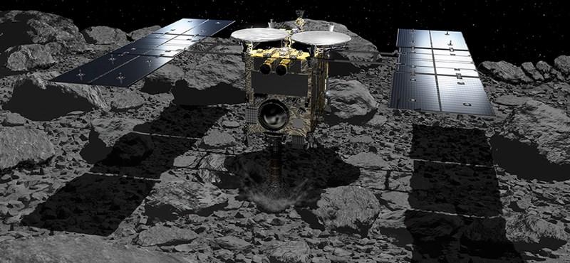 Nagyon fontos mintákat küld a Földre a japán űrszonda