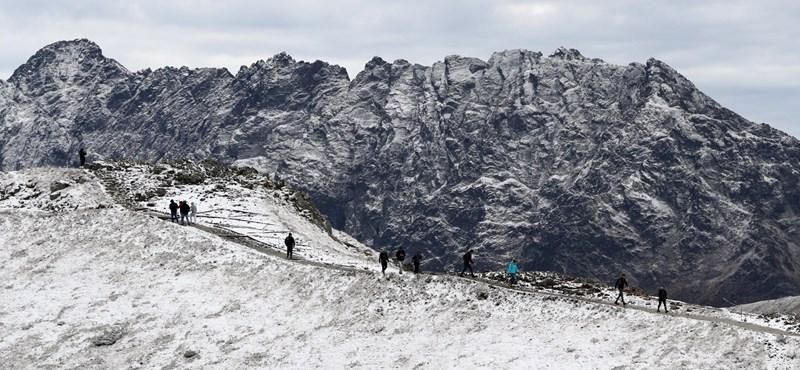 A Tátrában már havazik - fotók