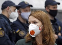 Nem lassul a koronavírus-fertőzés terjedése Ukrajnában