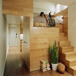 Kis lakás, nagy terek - elképesztő helykihasználás 46 négyzetméteren