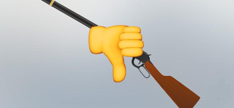 Na ezért ne keressen puska emotikont a hangulatjelek között