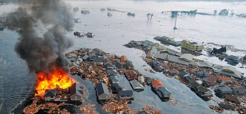 8,9-es erősségű földrengés Japánban