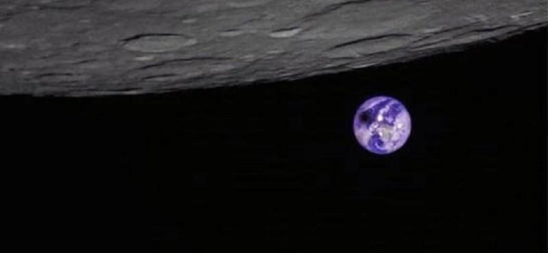 Különleges szögből fotózta le a Földet a napfogyatkozás közben egy kínai műhold