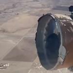 Videóra vették, ahogy Denver fölött felrobban egy Boeing hajtóműve