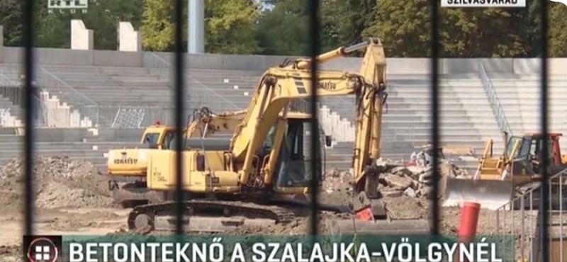 Tényleg óriási betonteknő épül a Szalajka-völgynél - videó