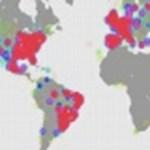 Brazil twitterezők felforrósítják a térképet