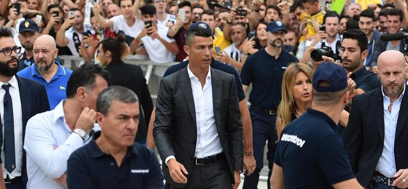 Ez nem jött be: csak öt Fiat-dolgozó sztrájkolt Ronaldo leigazolása miatt