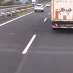 Kiderült: ők ellenőriztek a civil, kék lámpás autóból az M7-esen