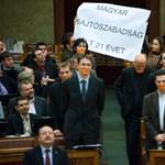 Így tiltakoztak a médiatörvény ellen