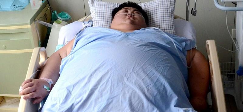 22 évesen meghalt Kína legkövérebb embere