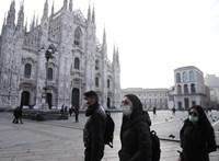 Kezd elszabadulni a koronavírus Észak-Olaszországban