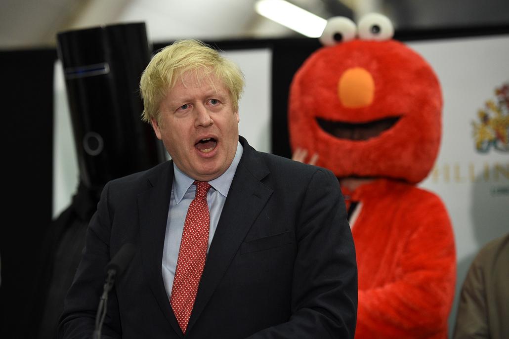 afp.19.12.12. Boris Johnson, brit választások