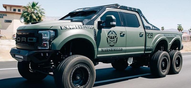 Brutális autója van az amerikai DJ Marshmellónak
